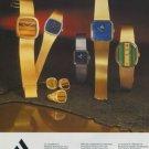 Arcana Watch Company Alkutami & Kyriacos SA Vintage 1977 Swiss Ad Suisse Advert