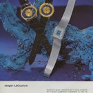 1972 Jaeger-LeCoultre Watch Company Vintage 1972 Swiss Ad Suisse Advert Horlogerie