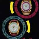 Delbana Watch Company Grenchen Switzerland 1957 Swiss Ad Suisse Advert Voltige