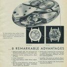 Aero Watch Company Vintage 1954 Swiss Ad Neuchatel Switzerland Suisse Advert