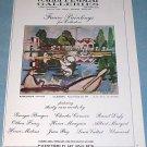 Raoul Dufy Les Canotiers 1976 Art Ad Wally Findlay