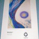 1976 Eren Laverne Cosmic Vistas Vintage 1976 Art Ad Advertisement