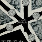1966 Solvil et Titus Watch Company Switzerland 1966 Swiss Ad Suisse Advert Titus Pentastar Advert