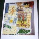 Jean-Michel Basquiat (1981)  Art Ad Advertisement