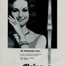Alpina Watch Company Switzerland Vintage 1966 Swiss Ad Suisse Horlogerie Advert