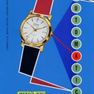 1957 Sindaco Watch Company Vintage 1957 Swiss Ad Suisse Advert Horology Locarno Switzerland