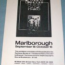 Brassai Secret Paris Original 1976 Art Exhibition Ad Advert Marlborough Gallery, NY