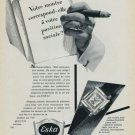1957 Eska Watch Company Switzerland Vintage 1957 Swiss Ad Suisse Advert Horology Horlogerie