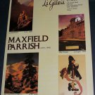 Maxfield Parrish New Hampshire Winter 1980 Art Ad Advert Advertisement