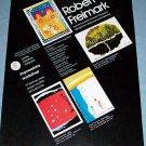 1976 Robert Freimark Czech Romance Vintage 1976 Art Ad Advert Advertisement