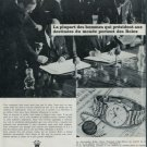 1966 Rolex Watch Company Vintage 1966 Swiss Ad Suisse Advert Hans Wilsdorf Rolex S.A.