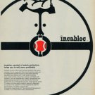 1959 Universal Escapement Company Incabloc Advert Vintage 1959 Swiss Ad Suisse Advert Horlogerie