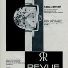 1966 Revue Watch Company Thommen SA Switzerland Vintage 1966 Swiss Ad Suisse Advert