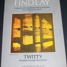 James Twitty Vintage 1971 Art Exhibition Ad Advertisement Findlay, NY