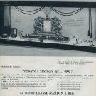 1960 Ulysse Nardin Watch Company Switzerland Vintage 1960 Swiss Ad Suisse Advert Horlogerie