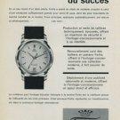 1956 Fortis Watch Company Grenchen Switzerland Vintage 1956 Swiss Ad Suisse Advert