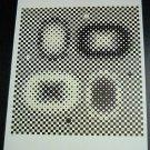 Victor Vasarely Metagalaxie Art Ad Advert Advertisement