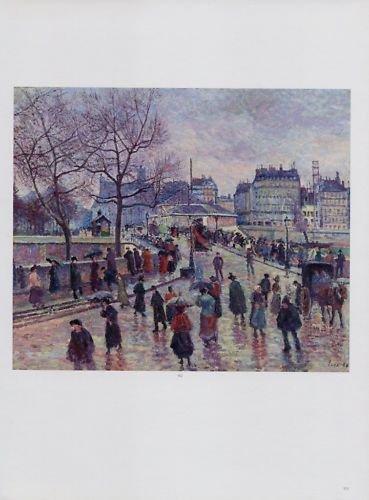 Maximilien Luce Paris Le Pont de L'Archeveche Art Ad Advertisement