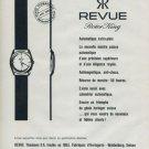 1960 Revue Watch Company Revue Rotor King Advert Vintage 1960 Swiss Ad Suisse Advert