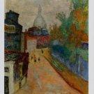 Pierre Bonnard Rue a Montmarte Le Sacre-Coeur Art Ad Advertisement