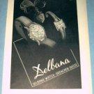1954 Delbana Watch Company Grenchen Switzerland 1954 Swiss Ad Suisse Advert Horlogerie