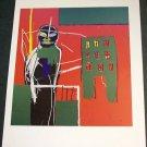 Jean-Michel Basquiat Pedestrian Art Ad Advertisement