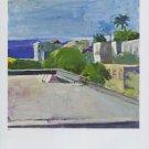 Paul Wonner Landscape (1960) Art Ad Advertisement