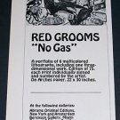 1971 Red Grooms No Gas Vintage 1971 Art Ad Advert Advertisement