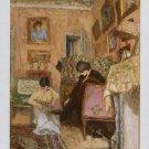 Edouard Vuillard Le Lacet de la Bottine Art Ad Advertisement