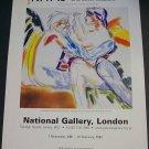 Kitaj In the Aura of Cezanne 2001-02 Art Exhibition Ad Advert National Gallery, London