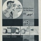Angelus Clock Company Vintage 1960 Swiss Ad Suisse Advert Horlogerie