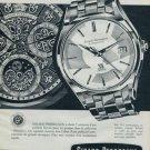 1960 Girard Perregaux Watch Company Switzerland Vintage 1960 Swiss Ad Suisse Advert Horlogerie