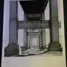 1968 Dwan Gallery NY Vintage 1968 Art Ad Flavin Lewitt Snelson Advertisement