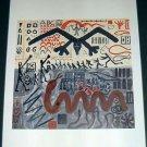 A. R. Penck Systembild-End Art Ad
