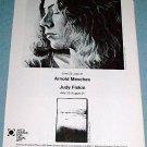 Arnold Mesches Judy Fiskin 1976 Art Exhibition Ad ARCO