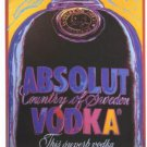 Andy Warhol Absolut Warhol Art Ad Absolut Vodka Advertisement Advert