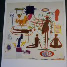 Jean-Michel Basquiat Action Hand Throws Laser Bombs Two Art Ads Advertisement