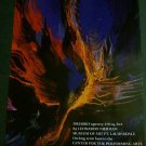 Leonardo Nierman Firebird Art Ad Advertisement