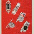 Quilbe Watch Company Paris France Vintage 1974 Swiss Ad Advert Horlogerie