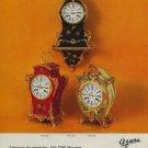 Azura Clock Company Switzerland Vintage 1974 Swiss Ad Suisse Advert Horlogerie