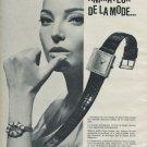 1965 Favre-Leuba Watch Company Geneve Geneva Switzerland 1965 Swiss Ad Suisse Advert