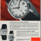1965 Doxa Watch Company Le Locle Switzerland 1965 Swiss Ad Suisse Advert Horology