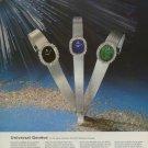 1974 Universal Geneve Watch Company Switzerland 1974 Swiss Ad Suisse Advert Horlogerie Horology