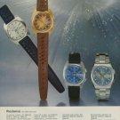 1974 Rodania Watch Company Grenchen Switzerland Vintage 1974 Swiss Ad Suisse Advert