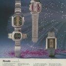1974 Nivada Watch Company Grenchen Switzerland Vintage 1974 Swiss Ad Suisse Advert Horlogerie