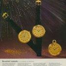 1974 Jean Lassale Watch Company Bouchet-Lassale Vintage 1974 Swiss Ad Suisse Advert