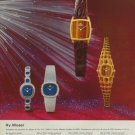 1974 Hy. Moser Watch Company Switzerland Vintage 1974 Swiss Ad Suisse Advert Horology