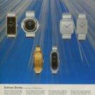1974 Golana Watch Company Switzerland Vintage 1974 Swiss Ad Suisse Advert Horlogerie