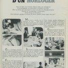 Camy Watch Company Switzerland Vintage 1974 Swiss Ad Advert Suisse Horlogerie