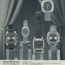 Buttes Watch Company BWC Watch Company Vintage 1970 Swiss Ad Suisse Advert